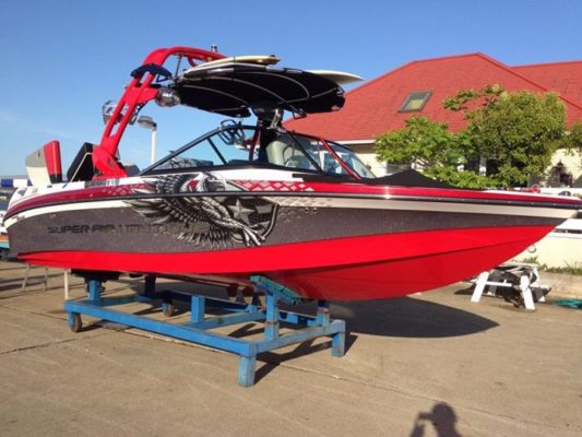 2009 SUPER AIR NAUTIQUE 210 RedColor